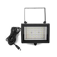 abordables Luces LED Solares-Solar Power Bright 30 LED de luz blanca Garden punto de la inundación luz del césped fresco blanco de la lámpara Ultra (CIS-57129)