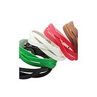 Недорогие $0.99 Модное ювелирное украшение-Жен. Кожаные браслеты - Кожа Уникальный дизайн, Мода Браслеты Коричневый / Красный / Зеленый Назначение Для вечеринок / Повседневные