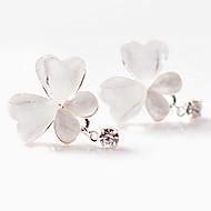 Недорогие $0.99 Модное ювелирное украшение-Жен. Синтетический алмаз Серьги-слезки - Стразы Бабочка, Животный принт Уникальный дизайн, Простой стиль Белый Назначение Для вечеринок Повседневные