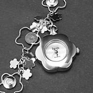 Quartz Band Flower Silver