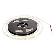 z®zdm impermeabile 5m 60w 60x5050smd 3000-3600lm 2800-3200K luce bianca calda luce di striscia (DC12V)