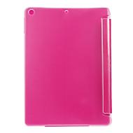 Χαμηλού Κόστους Θήκες/Καλύμματα για iPad-tok Για iPad Air Other Πλήρης Θήκη Συμπαγές Χρώμα PU δέρμα για iPad Air
