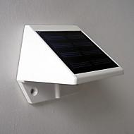 お買い得  LED ソーラーライト-1個 lm ウォールライト ガーデンライト 4 LEDの ハイパワーLED 装飾用 クールホワイト