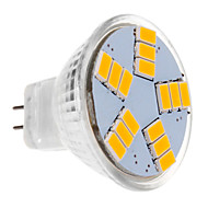 abordables Daiwl-BRELONG® 1pc 30 W 450 lm Focos LED MR11 15 Cuentas LED SMD 5630 Blanco Cálido 12 V