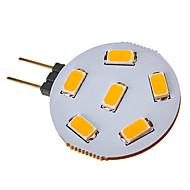 お買い得  LED スポットライト-SENCART 120-150lm G4 LEDスポットライト 6 LEDビーズ SMD 5730 温白色