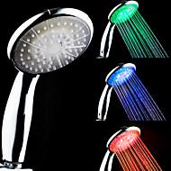 LED ライト付きシャワーヘッド