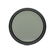 fotga® 62mm delgado ND del atenuador de filtro ajustable nd2 densidad neutra variable para ND400