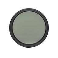fotga® 62mm 슬림 페이더 ND 필터 조절 변수 중립 밀도 ND2 nd400하기