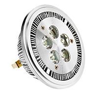 halpa -SENCART 420-450 lm G53 LED-kohdevalaisimet 5 ledit Teho-LED Lämmin valkoinen AC 85-265V