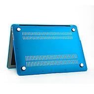 Χαμηλού Κόστους Θήκες, τσάντες και πορτοφόλια Mac-MacBook Θήκη για Συμπαγές Χρώμα Πλαστική ύλη MacBook Air 13 ιντσών MacBook Air 11 ιντσών