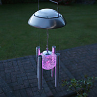 Colorful Light LED Solar Light Outdoor Solar Wind Chime Light