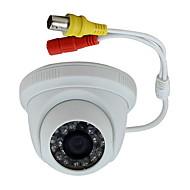 halpa -700tvl 1/4 CMOS IR-leikkaus (päivällä ja yöllä kytkentätoiminto) CCTV ir Dome kamera hd ys-8813cc