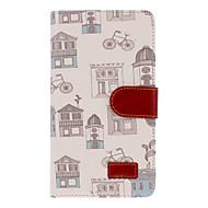 Для Samsung Galaxy Note Кошелек / Бумажник для карт / со стендом / Флип / С узором Кейс для Чехол Кейс для Мультяшная тематика