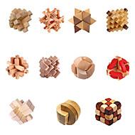 Chino tradicional de madera Inteligencia Lock juguete (colores surtidos)