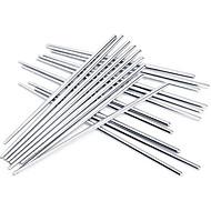cheap Tableware-High Quality Non-slip Stainless Steel Chopsticks(3 Pairs)