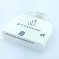 billige Kort Læser-Multi-i-1 SD / MMC / TF kortlæser til Samsung Galaxy i9100 / i9220 / i9300 / N7100