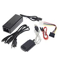 USB 2.0 til IDE SATA S-ATA 2,5 3,5 HD HDD Adapter kabel (5 stk)