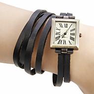 Недорогие Женские часы-Жен. Наручные часы Часы-браслет Модные часы Японский Кварцевый Горячая распродажа Натуральная кожа Группа Богемные Черный Зеленый Хаки