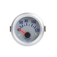 Water Temperatuur Meter Gauge met Sensor voor Auto 2 52mm 40 ~ 120Celsius Degree Oranje Licht