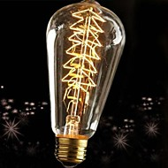 60w e27 retro-teollisuus hehkulamppu Edison-tyyliin
