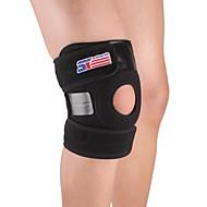 膝用サポーター スポーツサポート 調整可 簡単なドレッシング 登山 キャンピング&ハイキング ランニング 黒フェード