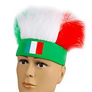 abordables Disfraces y Cosplay-2016 campeonato de fútbol europeo Italia ventiladores cosplay diadema