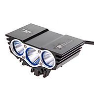 Światła rowerowe Tylna lampka rowerowa Przednia lampka rowerowa Cree XM-L U2 Kolarstwo 18650 2200 Lumenów Bateria Kolarstwo Wielofunkcyjne