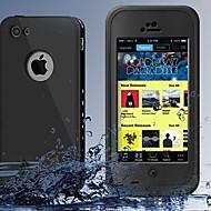 Недорогие Кейсы для iPhone 8 Plus-Кейс для Назначение IPhone 7 / iPhone 7 Plus / iPhone 6s Plus iPhone 8 / iPhone 8 Plus / iPhone 7 Вода / Грязь / Надежная защита от повреждений Чехол Сплошной цвет Твердый ПК для iPhone 8 Pluss