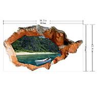 abordables Adhesivos Decorativos-Calcomanías Decorativas de Pared - Calcomanías 3D para Pared 3D Sala de estar / Dormitorio / Comedor