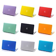 abordables Liquidación-MacBook Funda Un Color El plastico para MacBook Pro 15 Pulgadas / MacBook Pro 13 Pulgadas