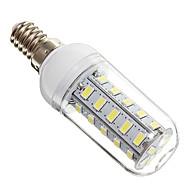 4W E14 LED-lampa 36 lysdioder SMD 5730 Kallvit 350-400lm 6000-6500K AC 220-240V