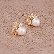 Damskie Kolczyki na sztyft biżuteria kostiumowa Perłowy Stop Biżuteria Na Ślub Impreza Codzienny Casual