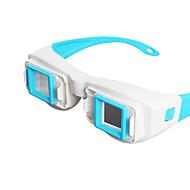 분할 화면 컴퓨터의 측면 3D 안경으로 reedoon면
