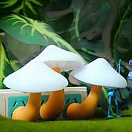 abordables Lámparas de Mesa-luz de la lámpara de inducción de setas comodo llevó la noche sueño ligero (color al azar)