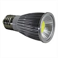 お買い得  LED スポットライト-E26/E27 7W 1 COB 600LM LM ナチュラルホワイト LEDスポットライト AC 100-240 V