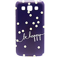 Dasiy Flowers Happy Pattern Hard PC Plastic Case for Samsung Galaxy Win I8552