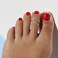 cheap -Toe Ring Unique Design, European, Fashion Women's Gold / Black / Silver Body Jewelry For Christmas Gifts / Daily / Casual