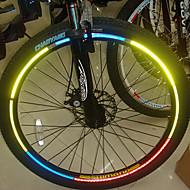 YELVQI pyörä polkupyörä heijastava tarroja