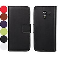 egyszínű minta kemény tok mágneses pillanat és kártya Samsung Galaxy Ace 2 i8160