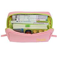 Multifunktionel Canvas Passbook Bag (assorteret farve)