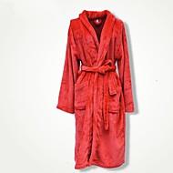 Bath Robe Czerwony,Stały Wysoka jakość 100% Coral Fleece Ręcznik