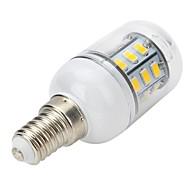 お買い得  LED スポットライト-300-400 lm E14 LEDスポットライト LEDコーン型電球 LEDボール型電球 T 27 LEDの SMD 5730 温白色 AC 220-240V
