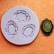 voordelige Accessoires voor huishouden & huisdieren-Bakvormen gereedschappen Siliconen Milieuvriendelijk / DHZ Cake / Koekje / Chocolade bakvorm 1pc