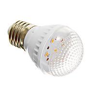 お買い得  LED ボール型電球-E27 2ワット7x2835smd 250-280lm 2700-3200k暖かい白色光は、グローバル電球(220V)を導いた