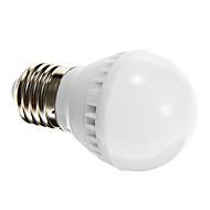 tanie Żarówki LED kulki-250-280 lm E26/E27 Żarówki LED kulki G45 10 Diody lED SMD 2835 Sensor Aktywacja za pomocą dźwięku Naturalna biel AC 220-240V