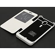 abordables Fundas de Batería para Dispositivos Samsung-caso externo paquete de baterías del cargador para Samsung Galaxy Note 3 (4200mAh)