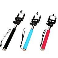 abordables Accesorios para Móvil-bluetooth del palillo del selfie extensible con para el iphone 8 7 galaxia s8 s7 de Samsung para ios / teléfono androide hiawei xiaomi nokia