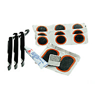 baratos Acessórios para Ciclismo-kit de reparação de pneus de bicicleta acacia® incluindo alavanca de pneu