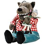 おばあちゃんぬいぐるみぬいぐるみのおもちゃと16インチ大型狼