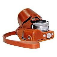 お買い得  -ソニーNEX-5R、NEX-5トン5R 5トンのためdengpin®革保護カメラケースショルダーストラップ付きバッグカバー7色のパターン